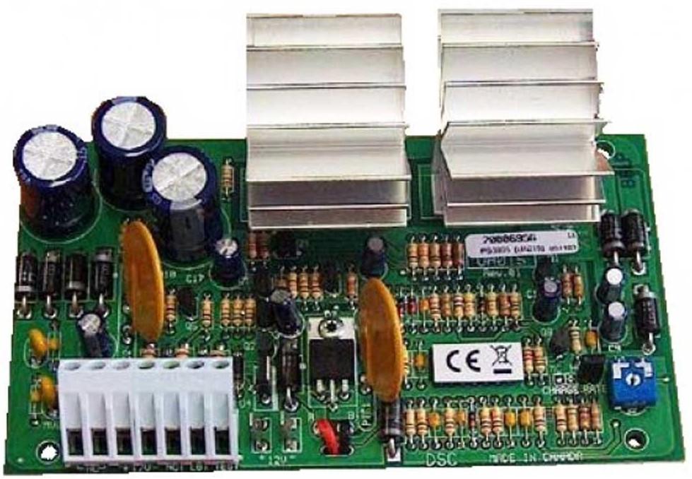 Πλακέτα τροφοδοτικού 12VDC 3A DSC - PS3085
