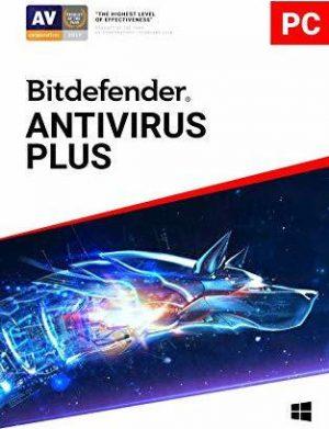 BITDEFENDER ANTIVIRUS PLUS 2019 ,1USER ,1YEAR