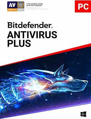 BITDEFENDER ANTIVIRUS PLUS 2019 ,1USER ,1YEAR