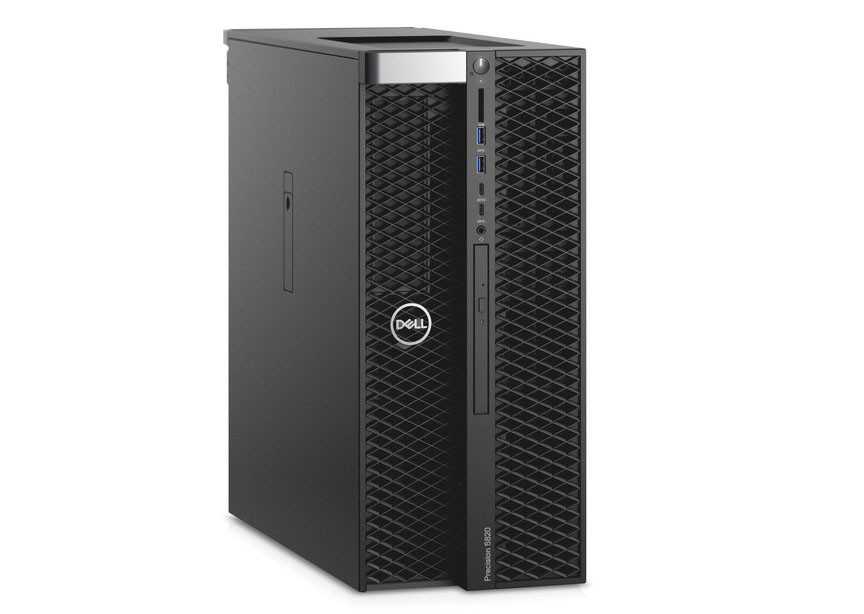 Workstation Dell Precision 5820 W-2102 16GB 1TB AMD Radeon™ Pro WX 2100 2GB