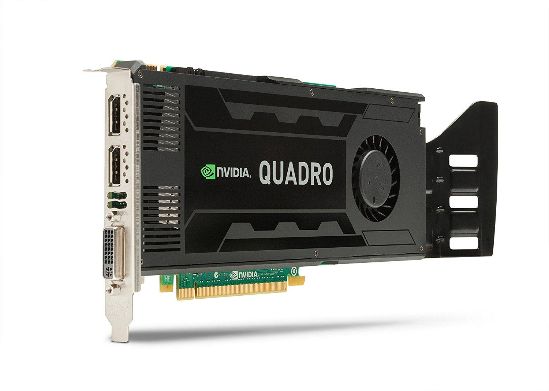 VGA NVIDIA QUADRO K4000 3GB GDDR5 192-BIT PCI-E F.P.