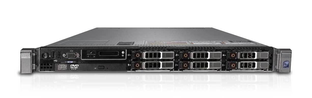 Server Dell Poweredge R610 2xE5620(4c) 16GB 3x300GB SAS 10K 6i-256MB 6xSFF 2xPSU WINDOWS ESSENTIALS 2012 R2