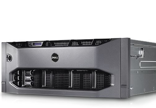 Refurbished Rackmount server Dell Poweredge R910 4xE7-4870 128GB H700 16xSFF 4xPSU