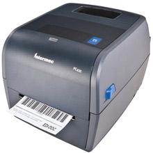 Σε άριστη κατάσταση, φθηνοί Refurbished μεταχειρισμένοι εκτυπωτές για ετικέτες barcode INTERMEC PC43t θερμικής μεταφοράς. Ιδανική λύση για σημεία πώλησης και εφαρμογές αποθήκης, για εκτύπωση ετικέτας με barcode σε θερμικό χαρτί